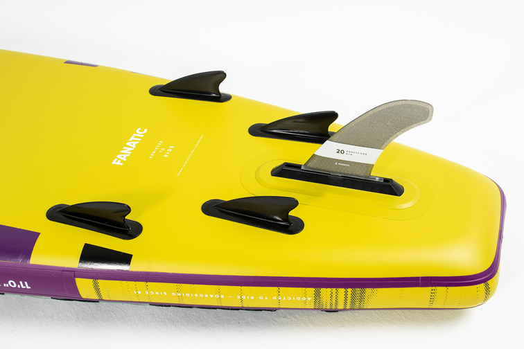 HD Mini Quad Fin setup
